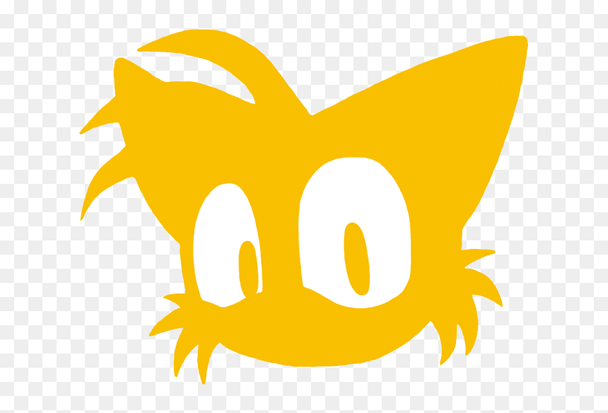 Tails Head Silhouette By Samsonic Tails Sonic The Hedgehog Head