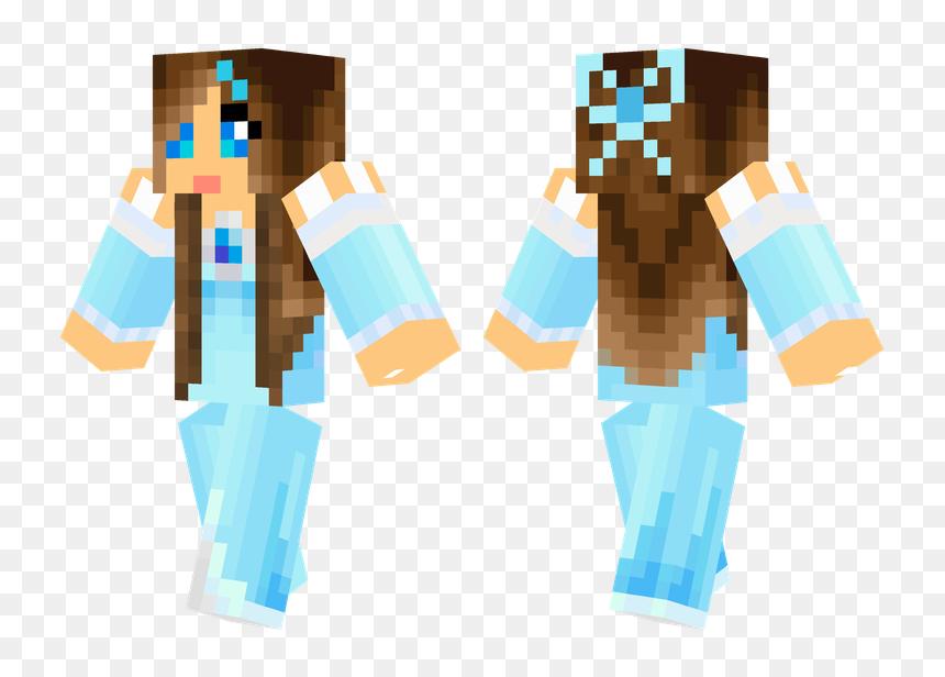Ice Princess Minecraft Skins Cool Minecraft Food Ice Princess Skin Minecraft Hd Png Download Vhv