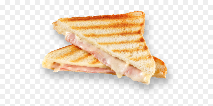 Panini Ham And Cheese Toast Png Transparent Png Vhv