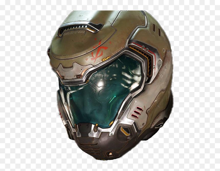 Doom Doomguy Doom Marine Preator Suit Transparent Doom Helmet