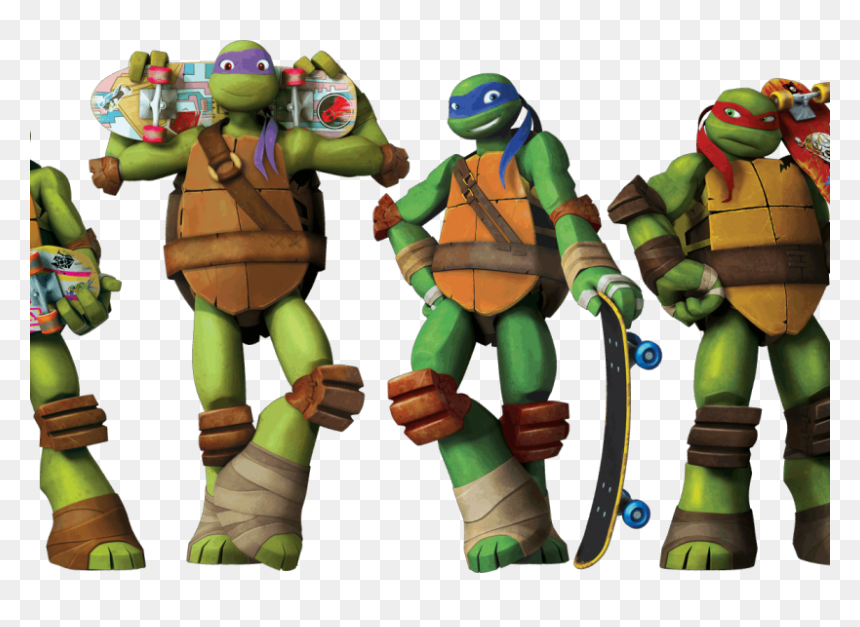Leonardo Raphael Ninja Turtles Hd Png Download Vhv