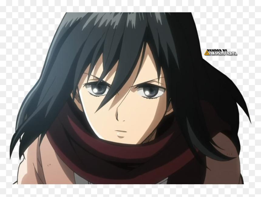 Anime Render Mikasa Ackerman Hd Png Download Vhv
