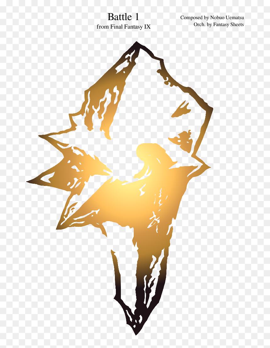 Final Fantasy Ix Logo Clipart , Png Download - Final Fantasy 9 Symbol,  Transparent Png - vhv