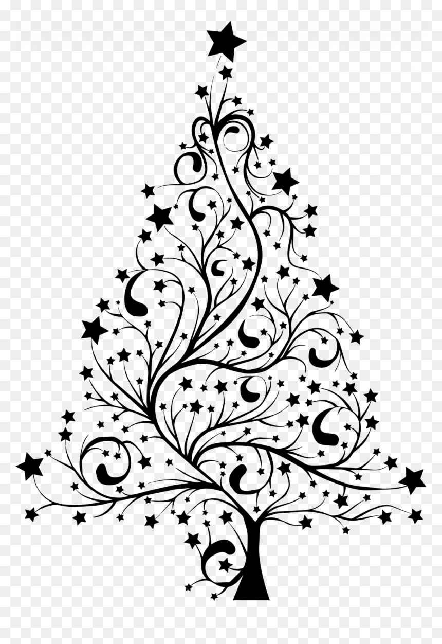 Large Size Of Christmas Tree Christmas Tree Silhouette Png Transparent Png Vhv