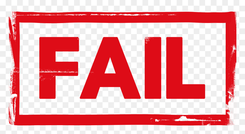 Fail Stamp Psd Sign Hd Png Download Vhv