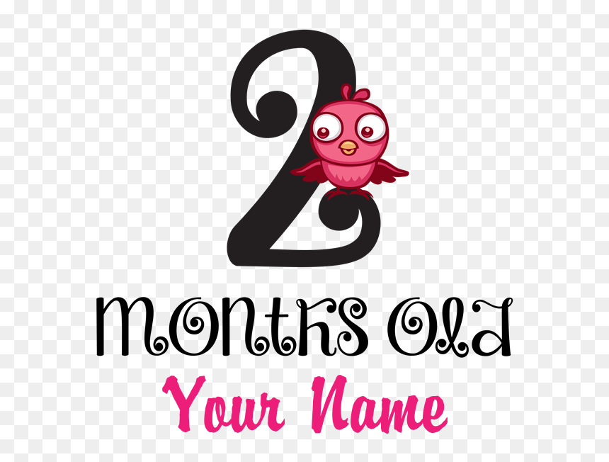 Clipart Baby Banner 2 Month Old Baby Png Transparent Png Vhv