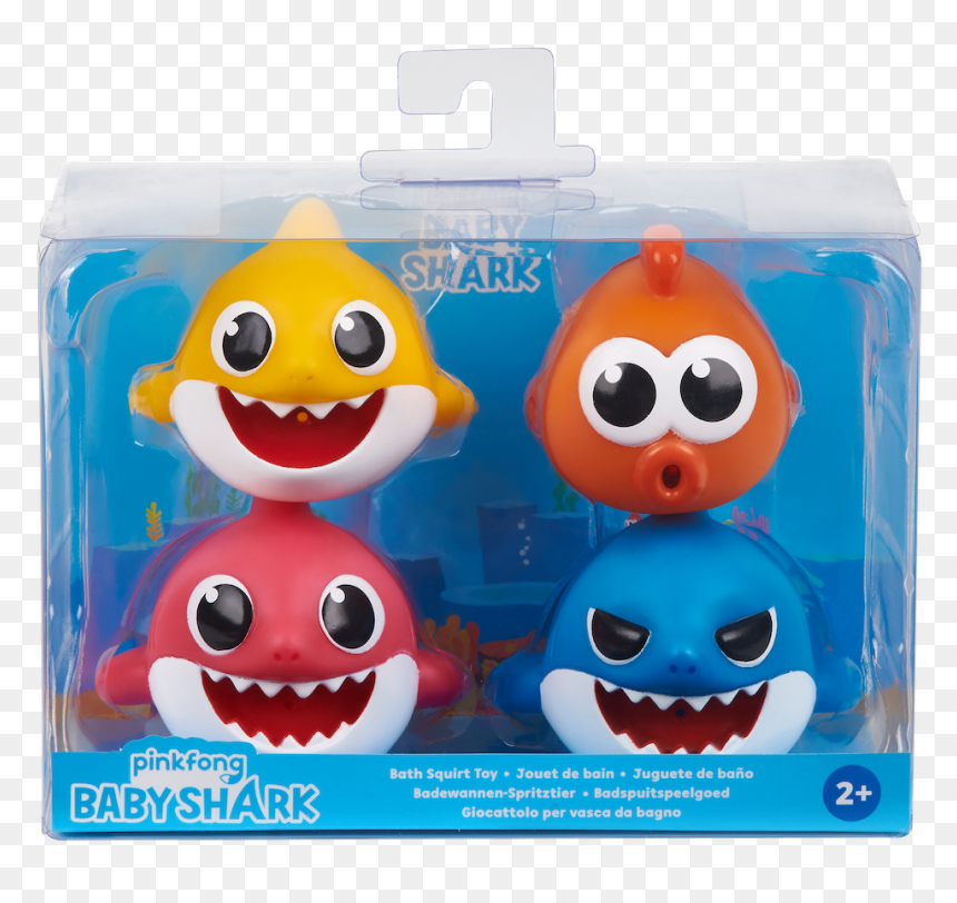 Baby Shark And Pinkfong Toys Hd Png Download Vhv