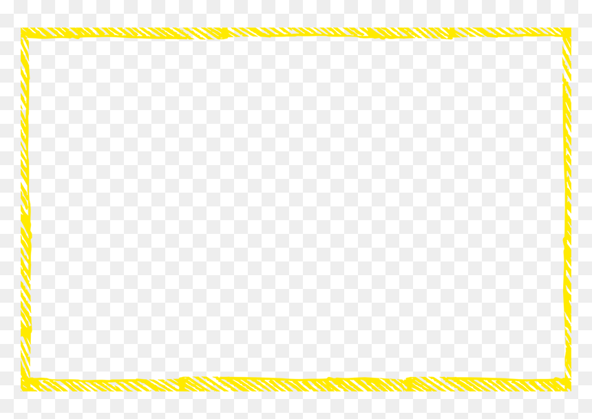Yellow Rectangle Outline Transparent Hd Png Download Vhv