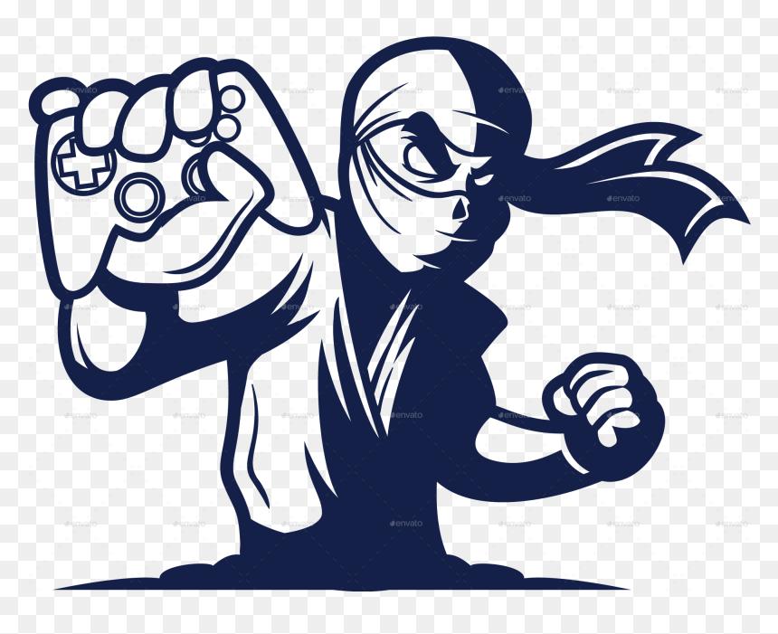 Ninja Png Gaming Logo Esport Gaming Png Transparent Png Vhv