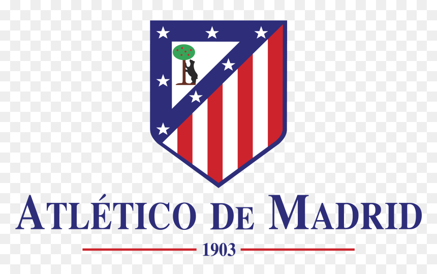 Logo Atletico De Madrid Png Transparent Png Vhv