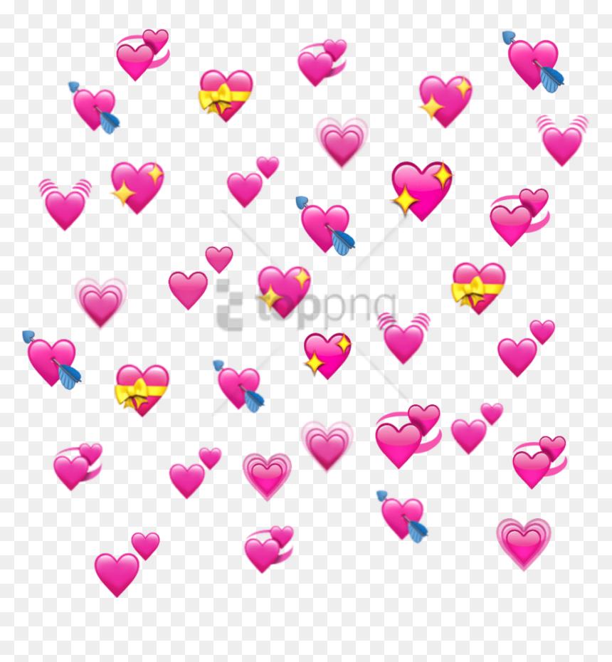 Heart Emoji Meme Png Transparent Png Vhv