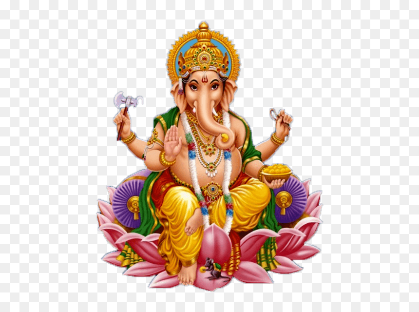 Ganesh Images With White Background Hd Png Download Vhv