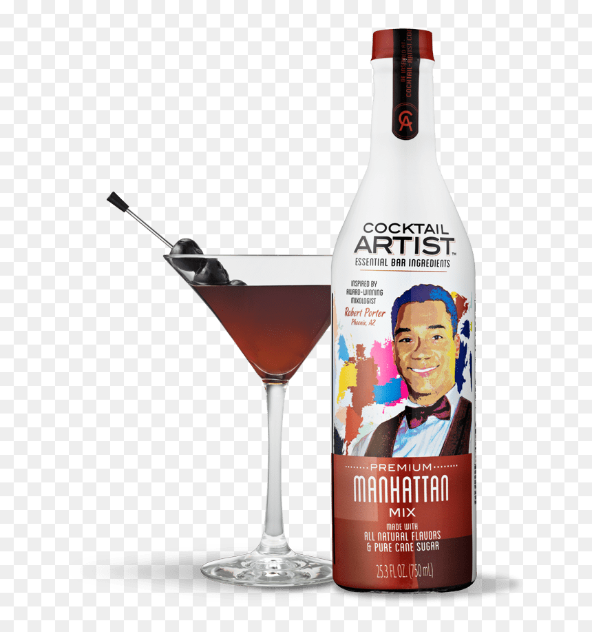 Cocktail Artist Manhattan Mix Hd Png Download Vhv