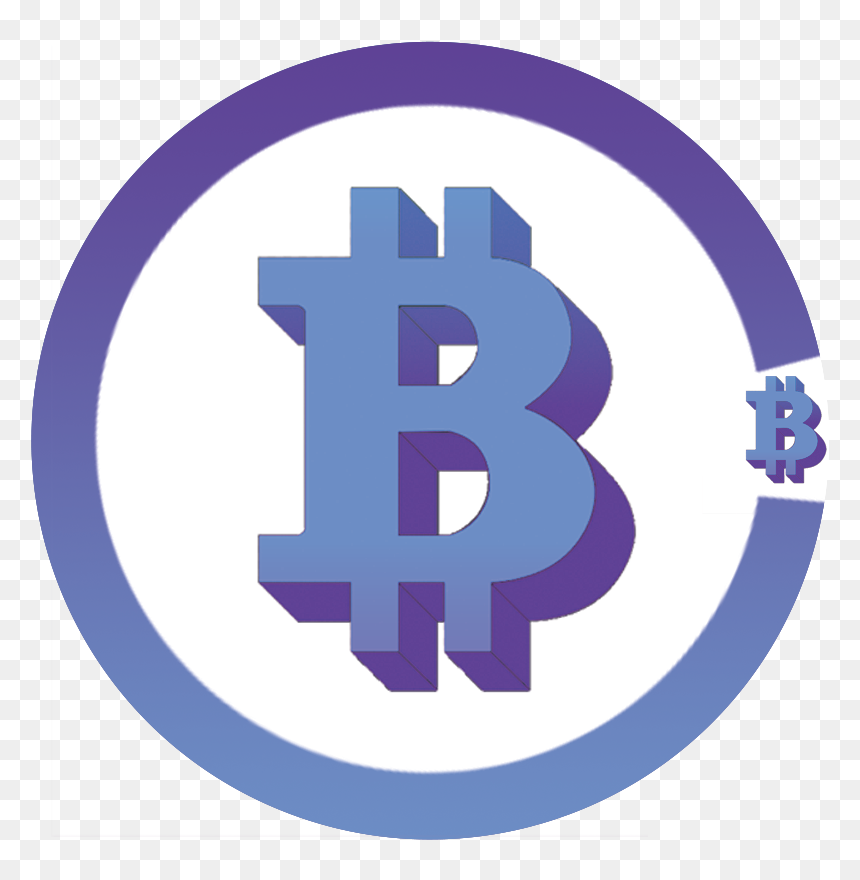 Bbc Cryptocurrency Logo Blue Bitcoin Transparent Hd Png Download Vhv