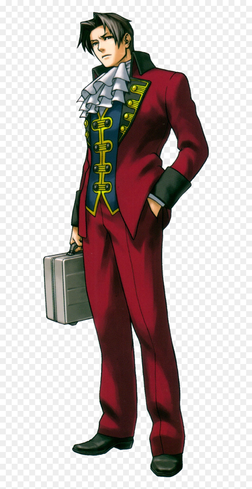 Ace Attorney Trials And Tribulations Miles Edgeworth Miles