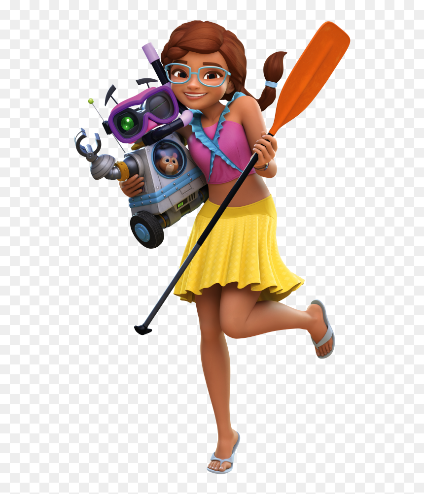 Lego Friends Girls On A Mission Zobo, HD Png Download - vhv