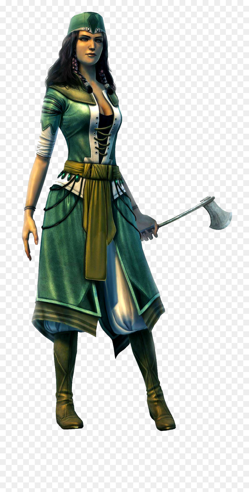 Assassin S Creed Revelations Girl Characters Hd Png Download Vhv