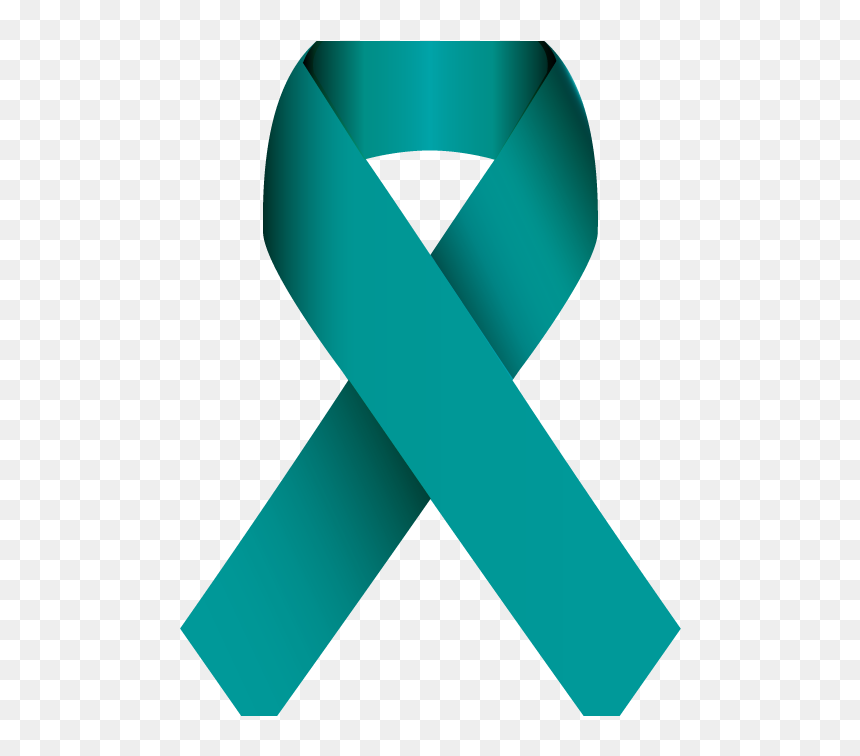 Know Your Risk For Ovarian Cancer Sexual Assault Awareness Month Ribbon Hd Png Download Vhv