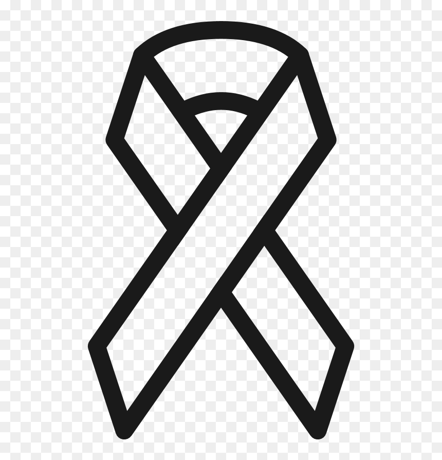 Combat Hiv Awareness Ribbon Cancer Ribbon Outline Png