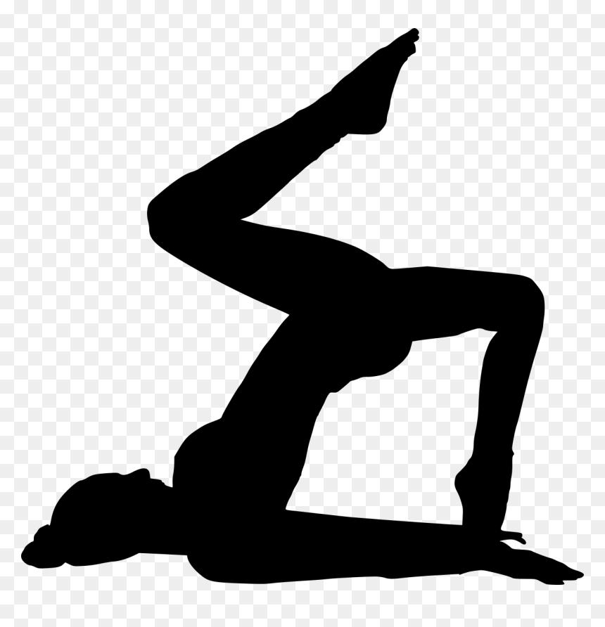 Transparent Background Yoga Silhouette Png Png Download Vhv