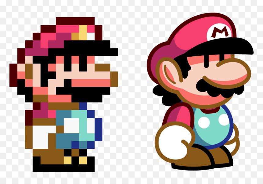 Super Mario Bros World Pixel Art Hd Png Download Vhv