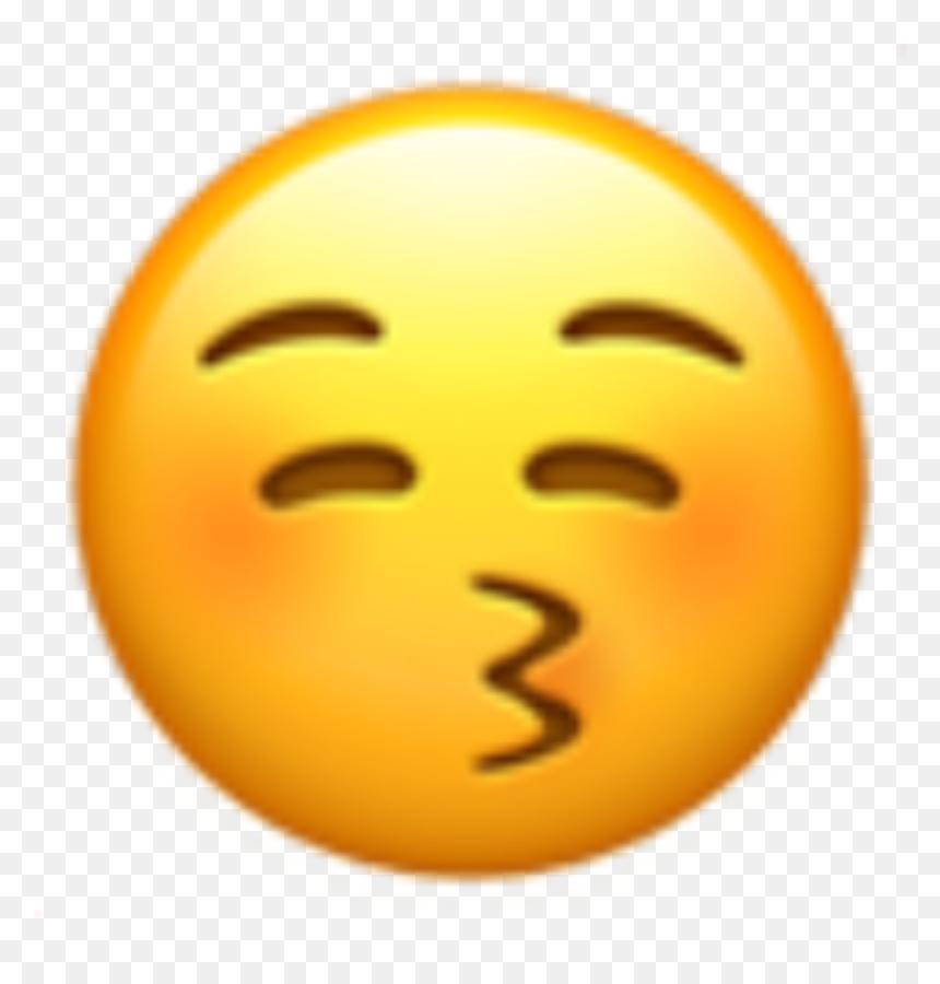 Smiley Bisous Sans Coeur Hd Png Download Vhv