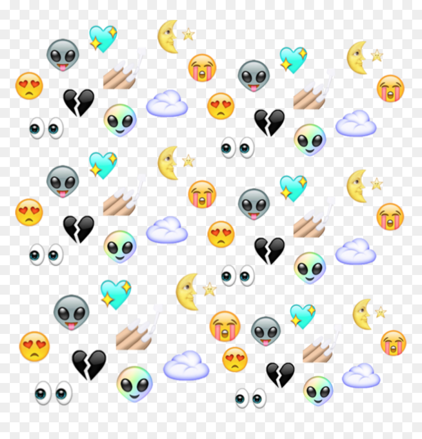 Aesthetic Background Emoji Sticker Kawaii Tumblr Iphone Hd Png Download Vhv