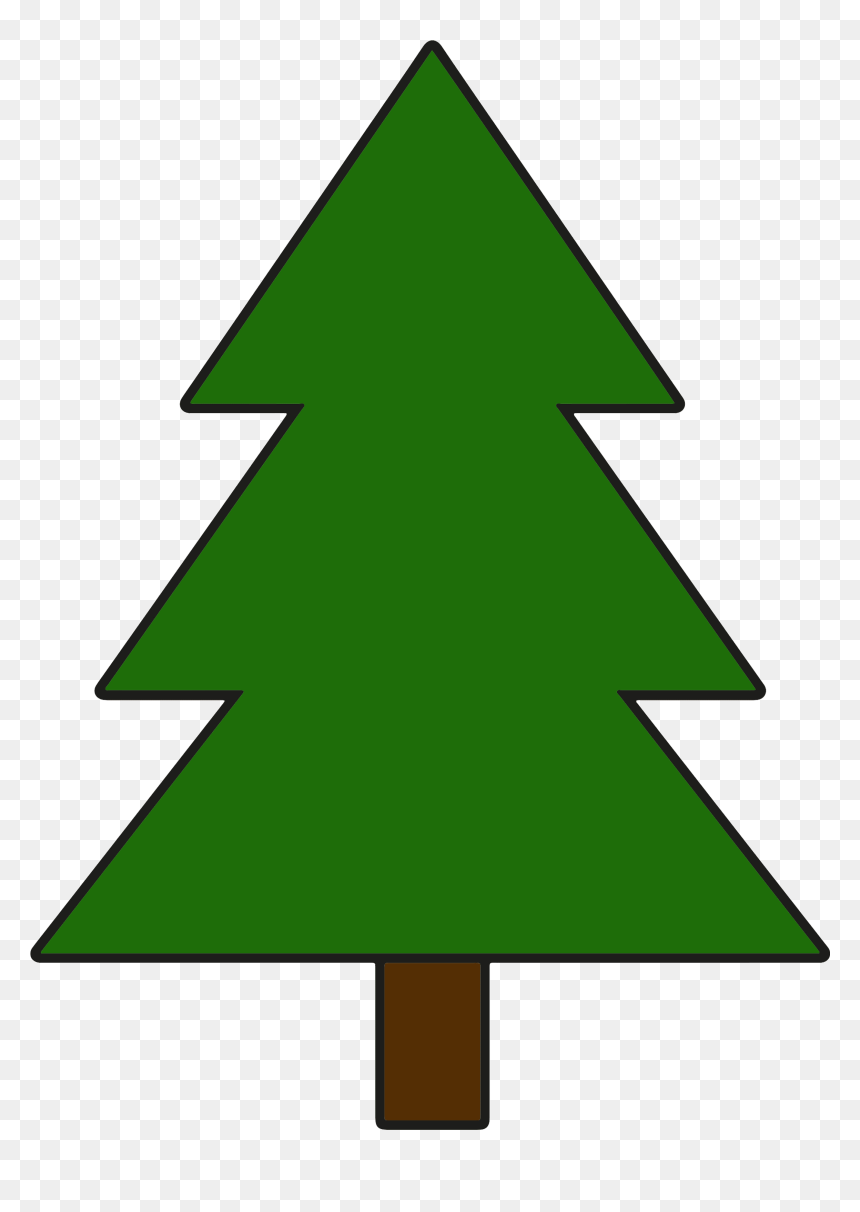 Simple Pine Tree Clipart Png Download Draw A Cartoon Tree Transparent Png Vhv Please use and share these clipart pictures with your friends. simple pine tree clipart png download