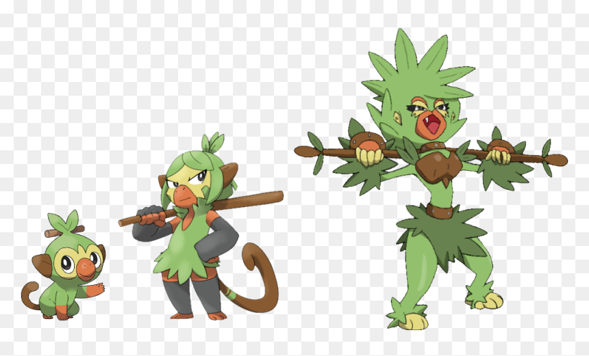 Grookey Evolution Hd Png Download Vhv It evolves into thwackey starting at level 16. grookey evolution hd png download vhv