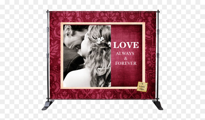 Stand With Design With Thoughts To Wedding Events Hd Png Download Vhv