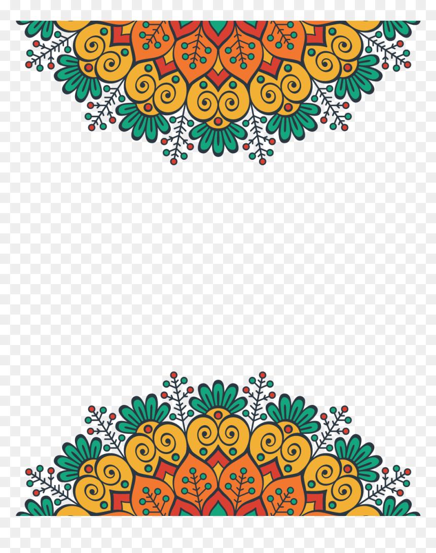 Mandala Design Pattern Diwali Mandala Designs Hd Png Download Vhv