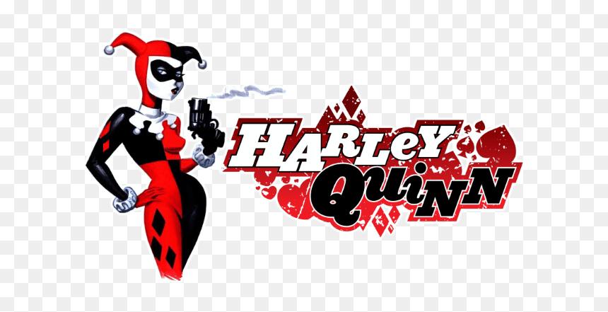 Harley Quinn - Logo Harley Quinn Png, Transparent Png - vhv