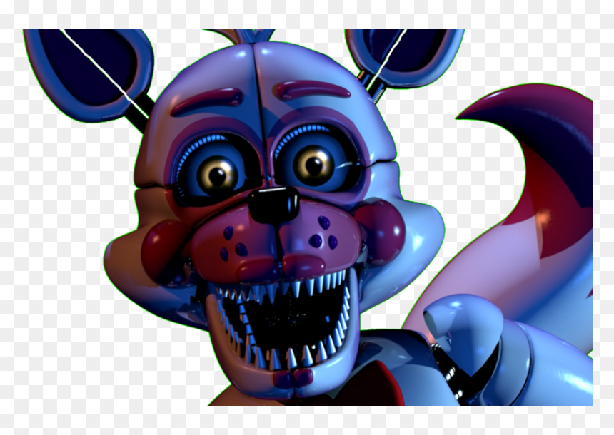 Funtime Foxy Custom Night Jumpscare Gif By Hd Png Download Vhv