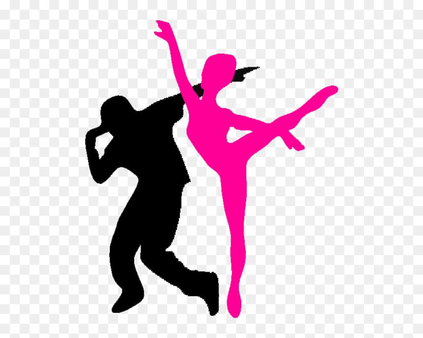 Musiktheater Jazz Dance Hip Hop Music Hip Hop Dance Silhouette Jazz And Hip Hop Dance Hd Png Download Vhv