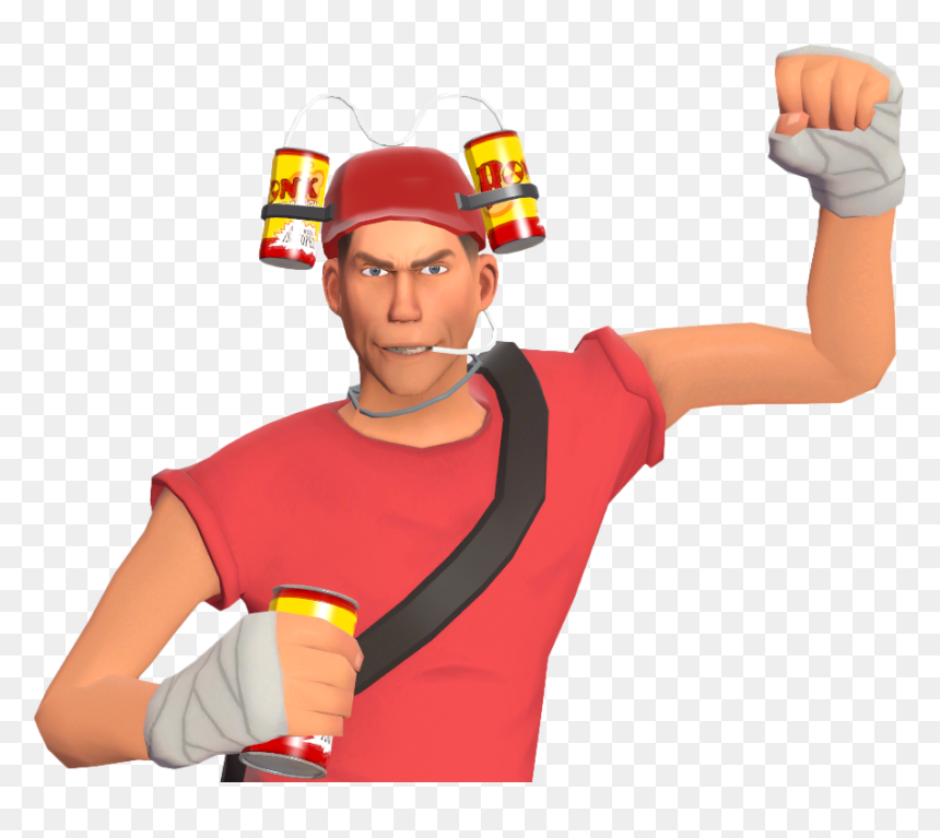Team Fortress 2 Scout Bonk Hd Png Download Vhv