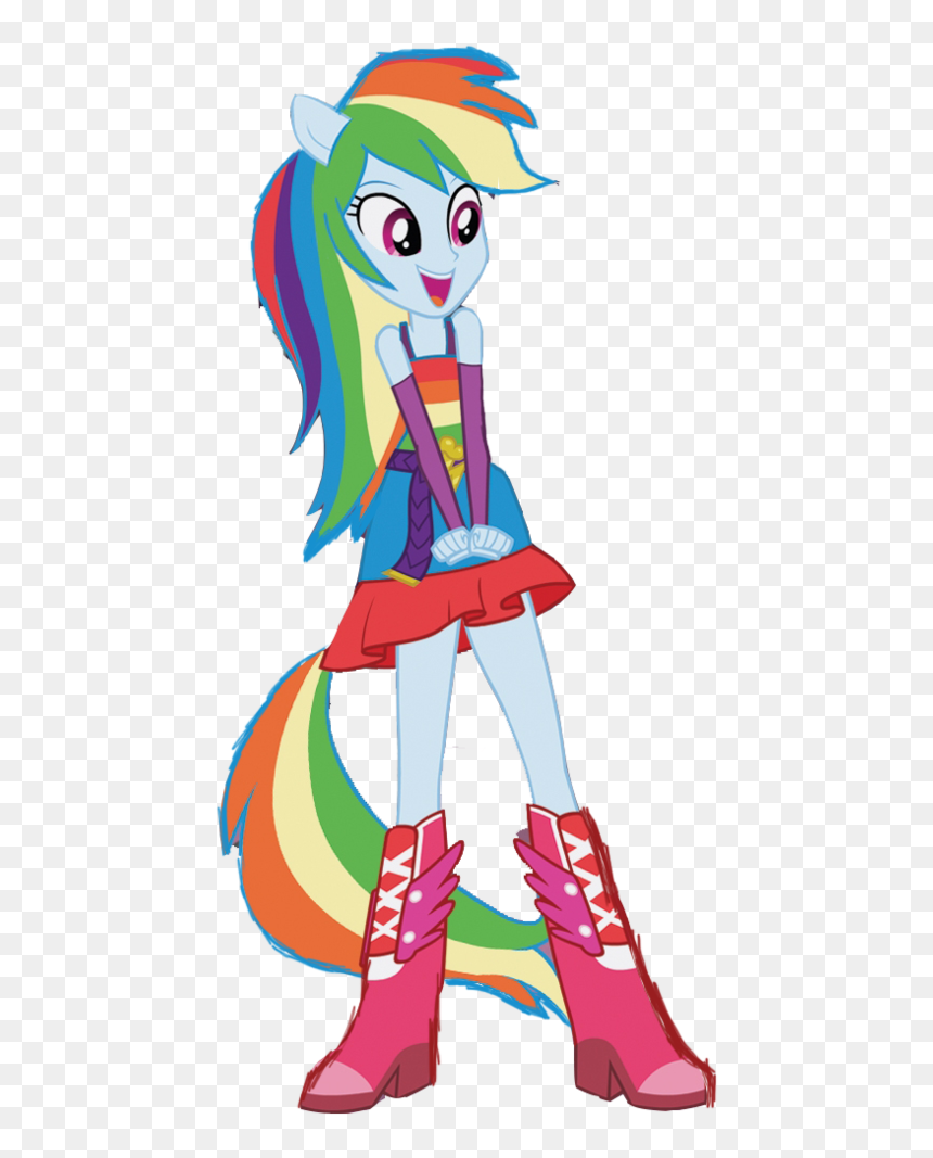 Rainbow Dash My Little Pony Rainbow Dash My Little Pony Equestria Girl Rarity Hd Png Download Vhv
