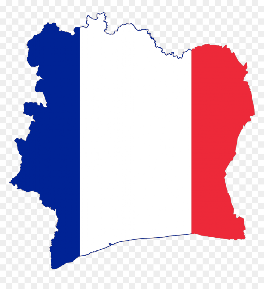 French Flag On Country Clipart Png Download France Flag And Country Transparent Png Vhv