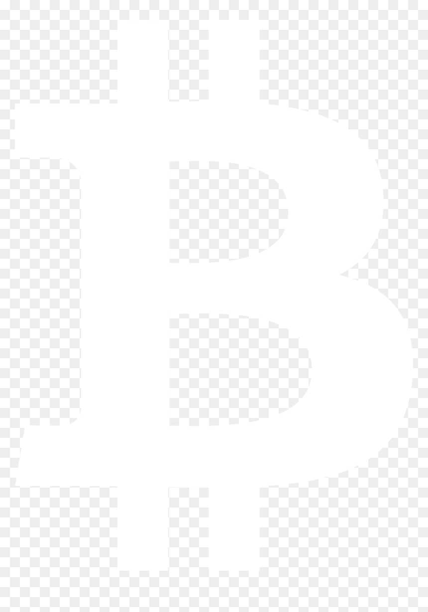 White Bitcoin Png Transparent Png Vhv