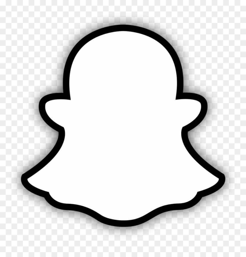Snapchat Logo Black And White Hd Png Download Vhv If you like, you can download pictures in icon format or directly in png image format. snapchat logo black and white hd png
