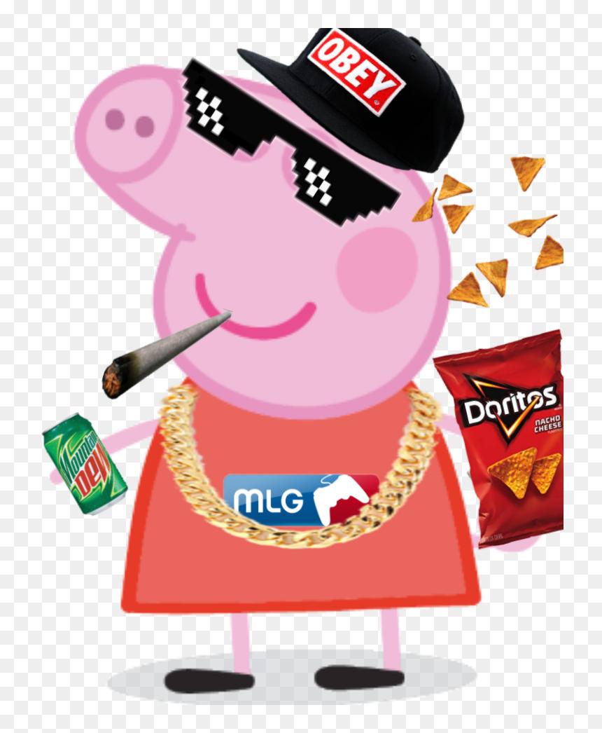 Mlg Peppa Pig Blank Template Imgflip