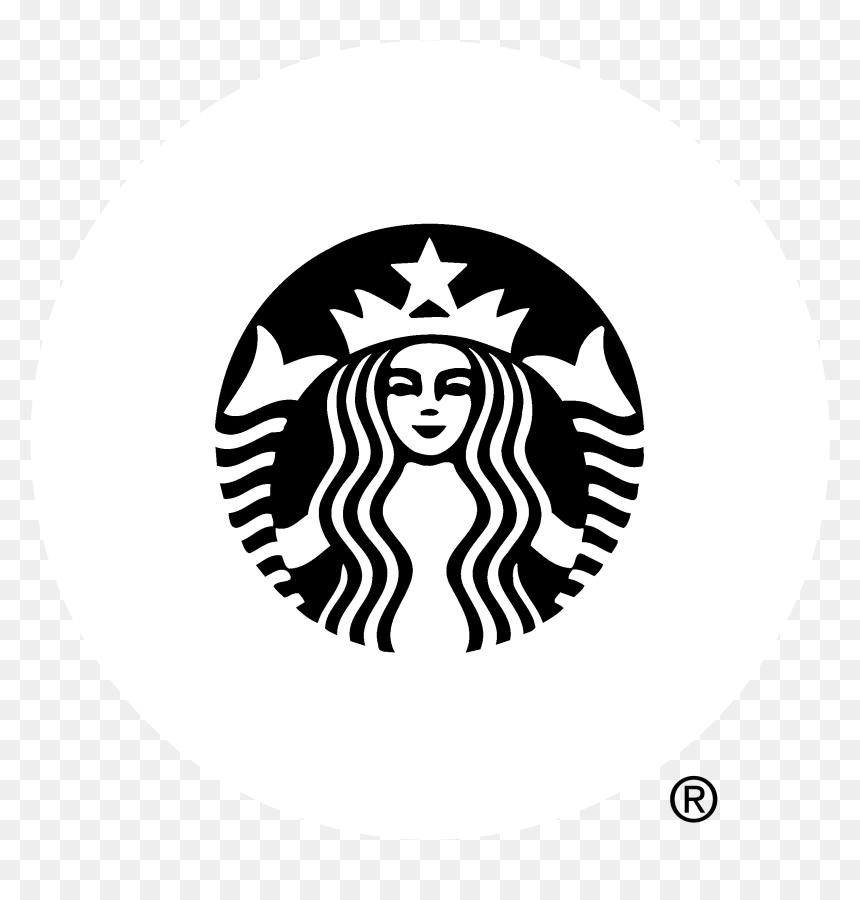 Starbucks Logo Black And White Png Picture Starbucks New Logo 2011 Transparent Png Vhv
