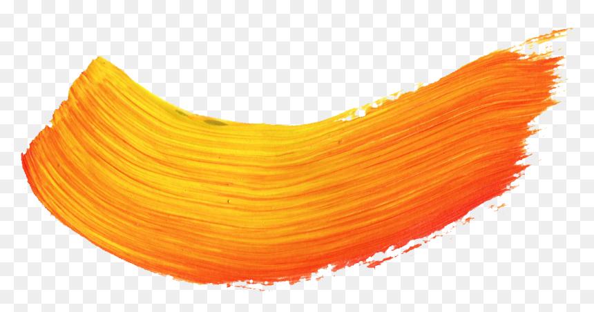Brush Stroke Png Transparent Vol Onlygfx Orange Paint Brush Stroke Png Download Vhv