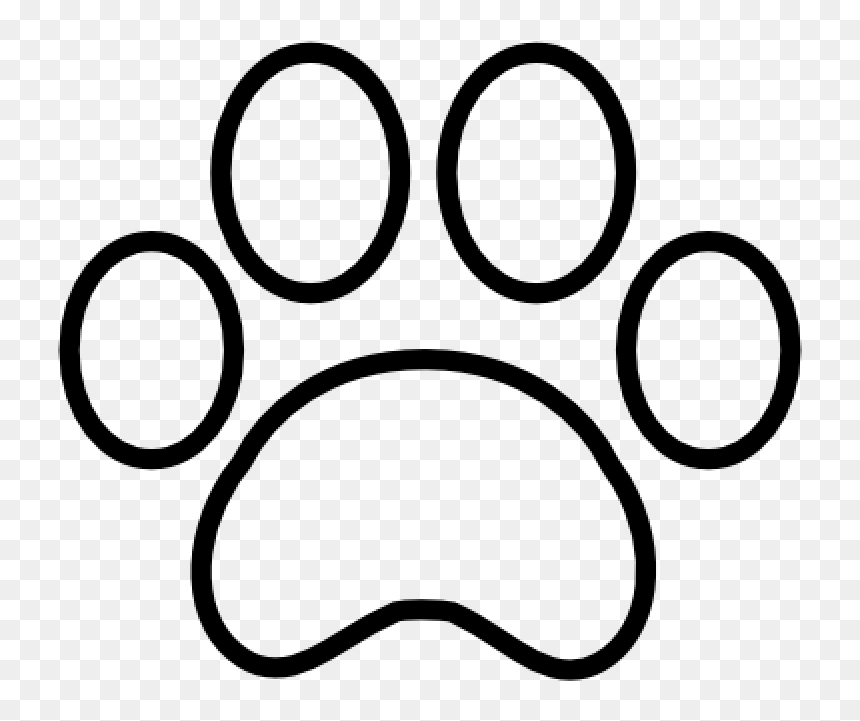 Tiger Paw Print Outline Paw Print Outline Free Icon Paw Print Outline Transparent Hd Png Download Vhv I've got them here for you in many different sizes for your crafting needs. tiger paw print outline paw print