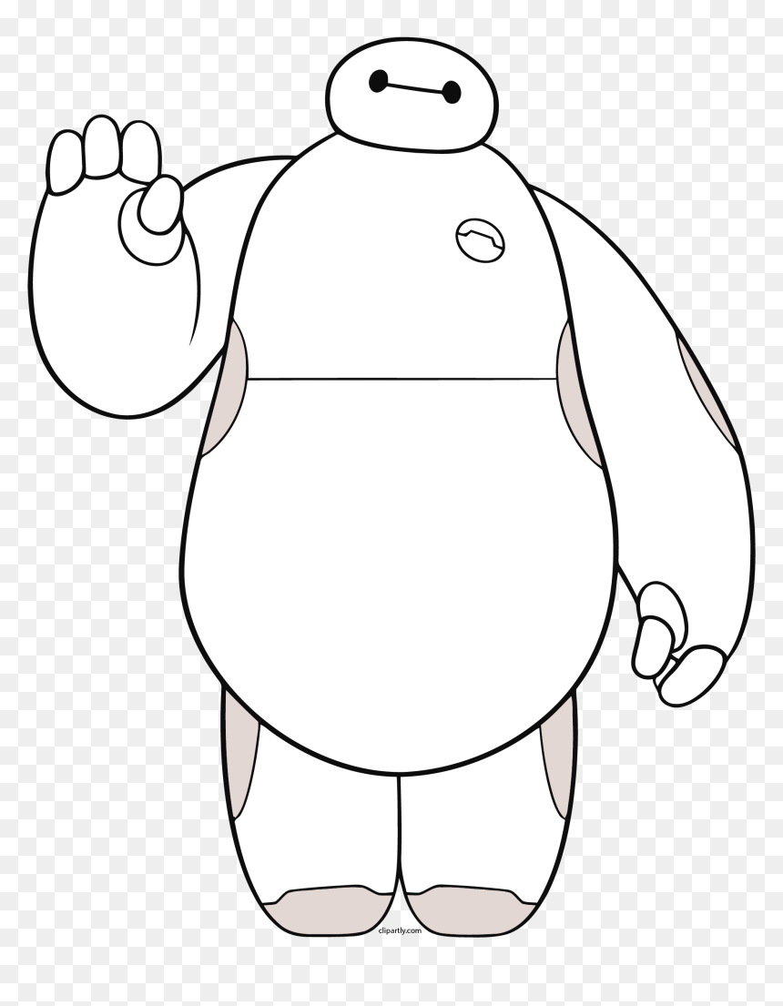 Baymax Big Png Clipart Big Hero 6 Baymax Waving Transparent Png Vhv