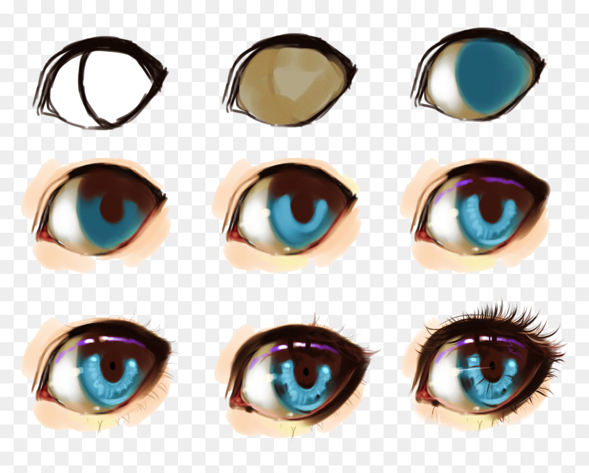 How To Draw Anime Eyes Female Pictures And Cliparts Beautiful Anime Eyes Drawing Hd Png Download Vhv