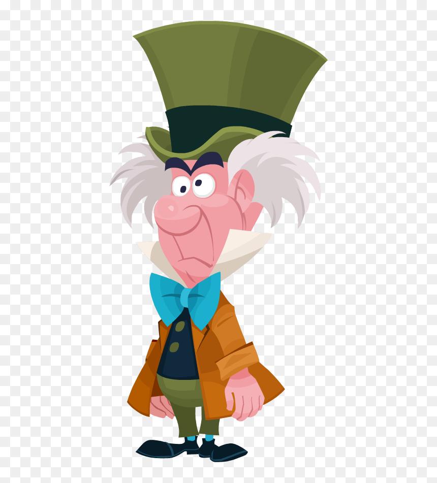 Mad Hatter Disney Clip Arts Alice In Wonderland Mad Hatter Png Transparent Png Vhv