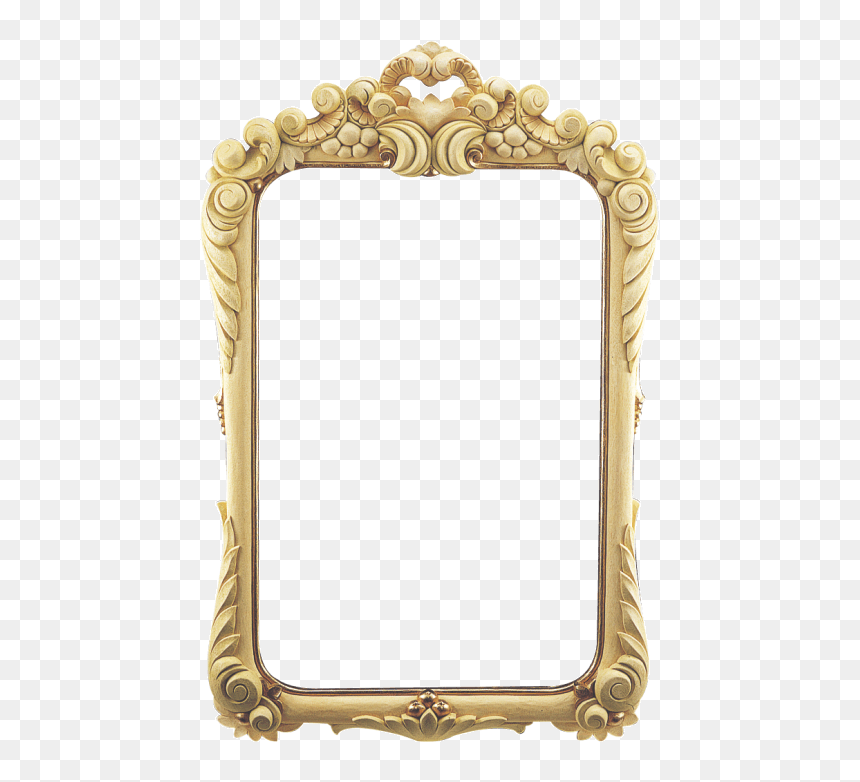 Now You Can Download Mirror Icon Transparent Background Gold Mirror Frame Png Png Download Vhv