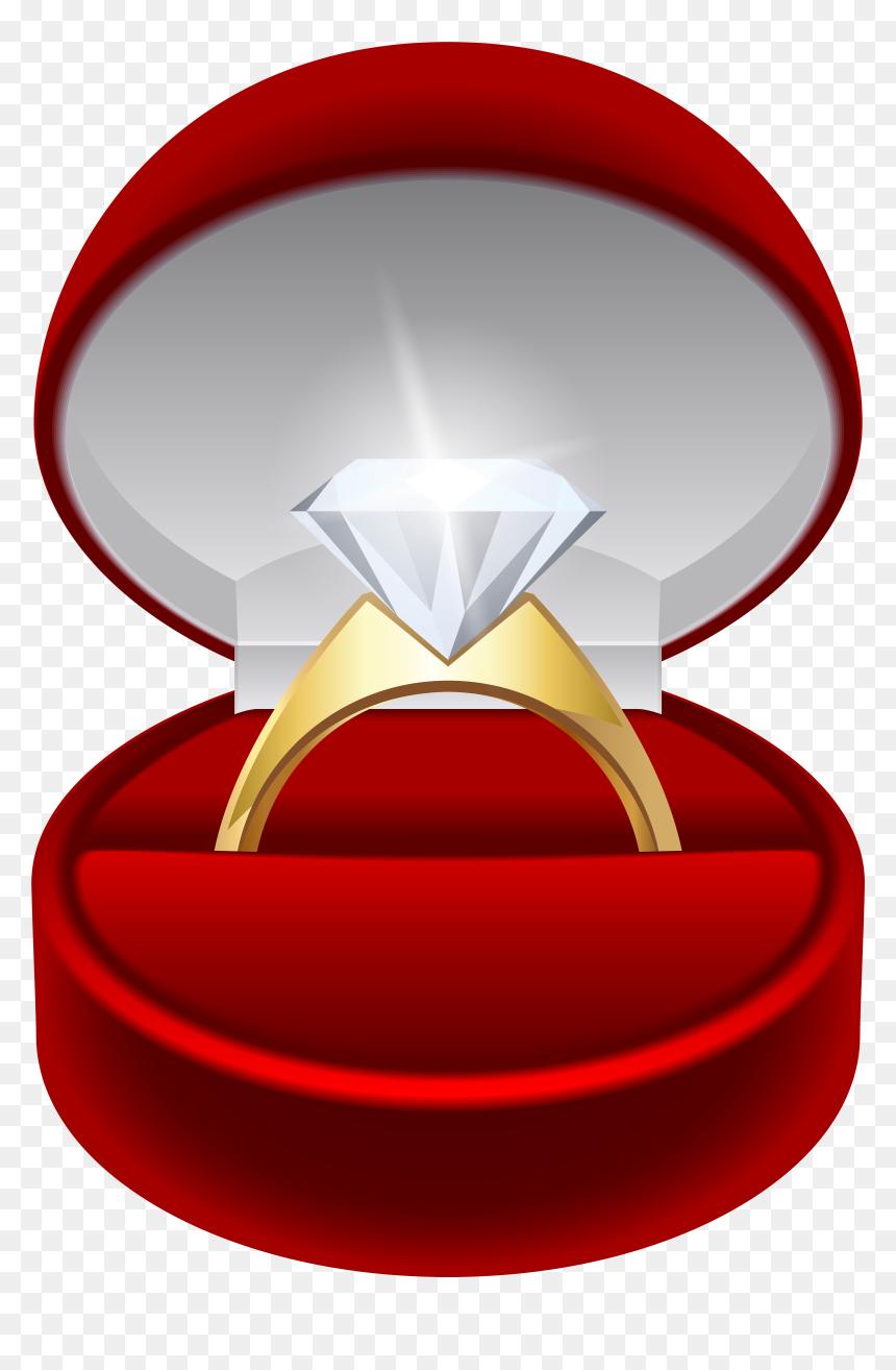 Engagement Ring Png Transparent Clip Art Image Engagement Ring Clipart Png Png Download Vhv