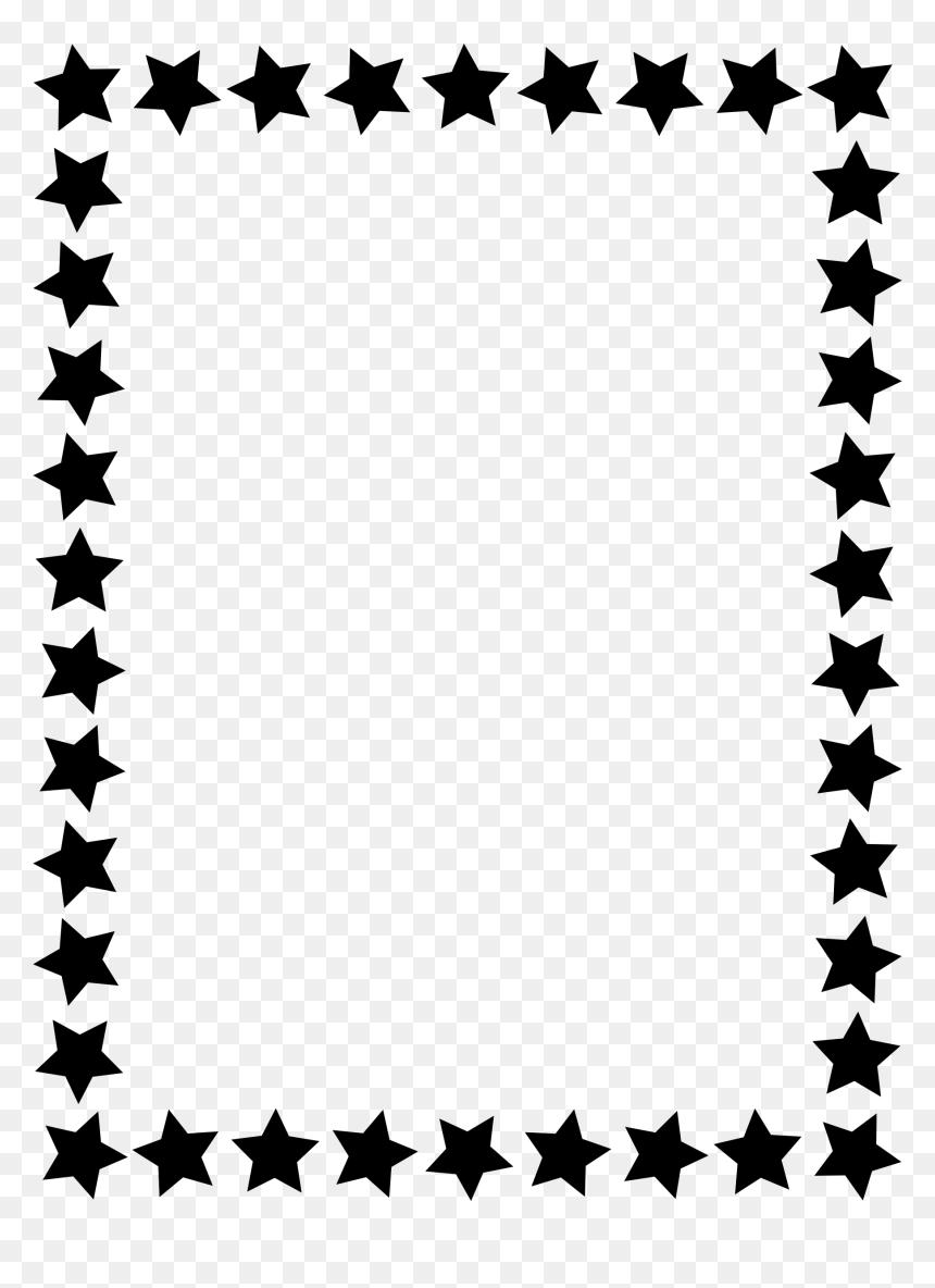 Star Clip Art Border Clipart - Top Border Clip Art - Free Transparent PNG  Clipart Images Download