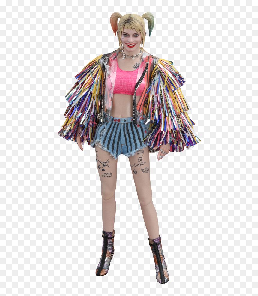 Harley Quinn Figure Birds Of Prey Hd Png Download Vhv